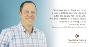 Doug Andersen of Magnet 360 gives testimonial for EOS software