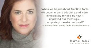 Lisa Manning Earley of Early Information Science gives testimonial about EOS software