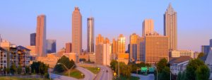 Atlanta skyline in the morning | Get More Out of the Conference for Companies Running on EOS 2019