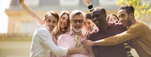 employees surrounding a great boss | Rene Boer how to be a great boss