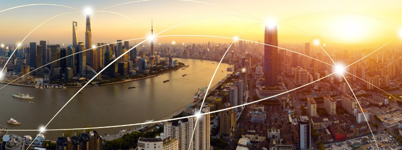 Asian city skyline | EOS expands to Australia and Asia