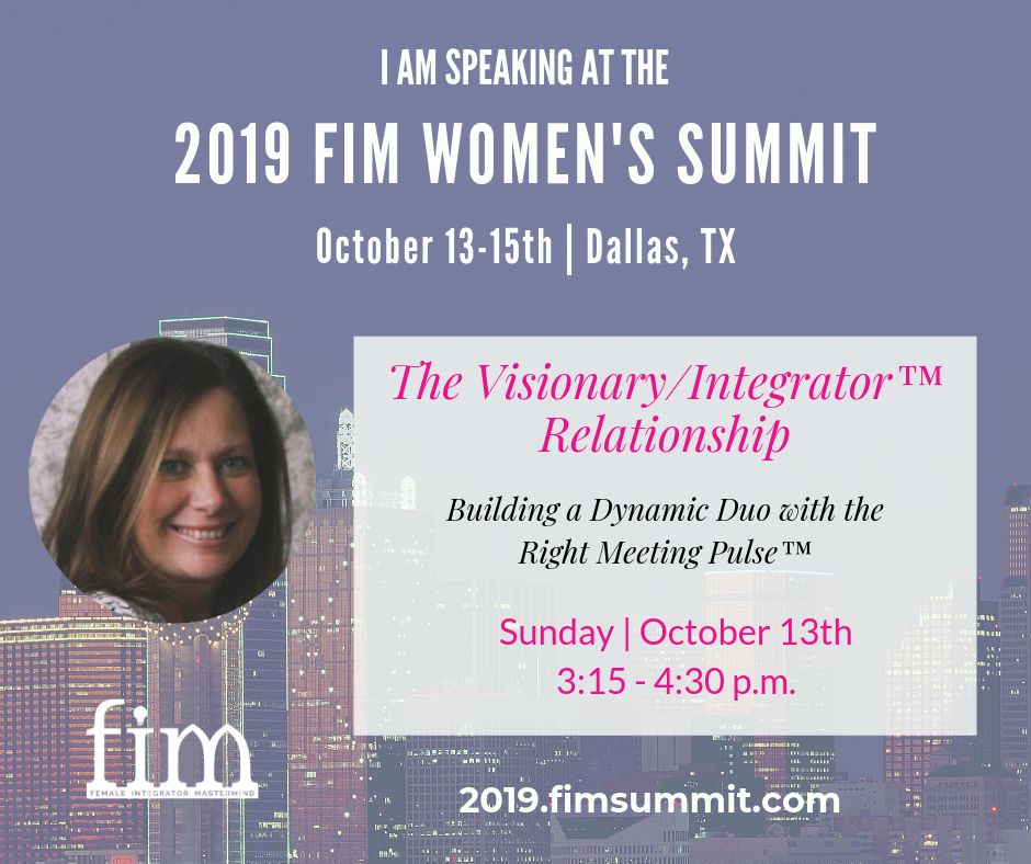Kathy Mayfield is speaking at the 2019 FIM Summit
